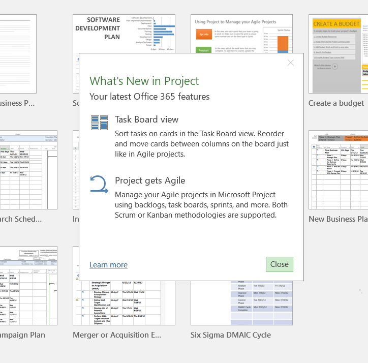 microsoft project tutorial part 22 planning an agile project