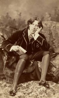 Spiritual Hero:  Oscar Wilde, (1854—1900)