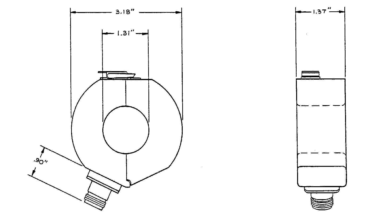 Prodyn Current Transducers I 125 Series 1 25 Aperture