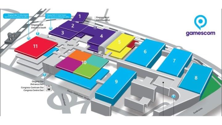 gamescom hall plan