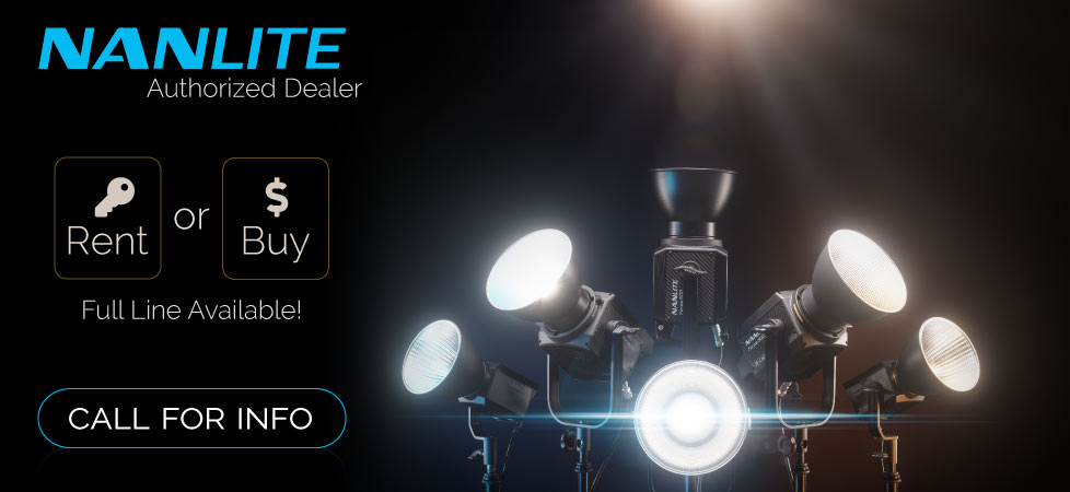 We rent and sell Nanlite