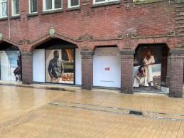 Hennes & Mauritz   Window visuals Groningen
