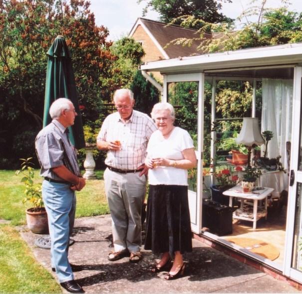 Roger, John and Leslye