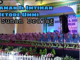 Madrasah Tsanawiyah Sunan Drajat Gelar Khataman dan Imtihan Al-Quran Metode Ummi