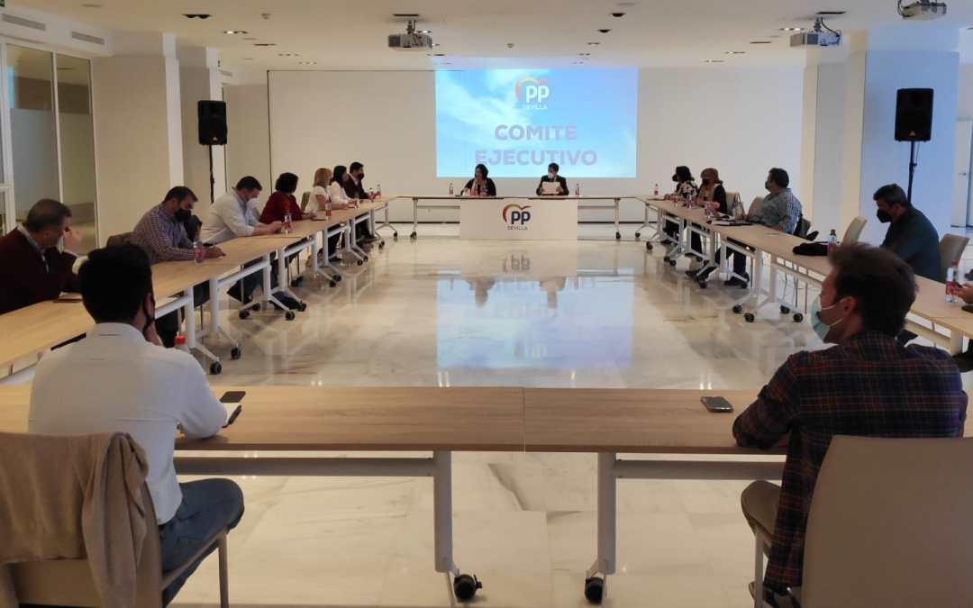 El PP aprueba un nuevo Comité Ejecutivo con el reto de consolidar la implantación territorial del PP 'comarca a comarca'