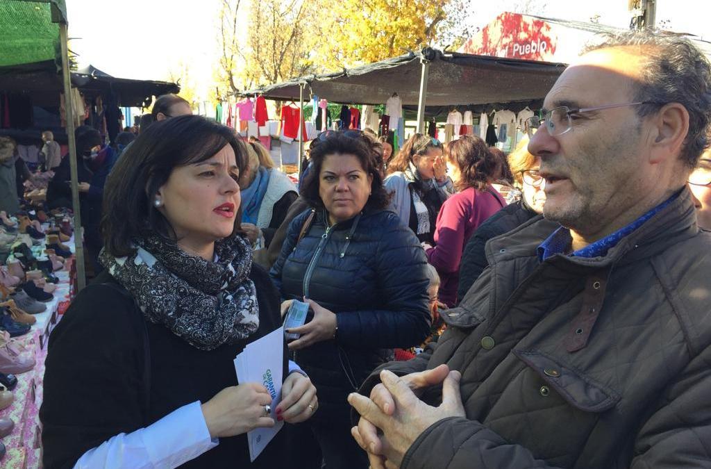 """Virginia Pérez denuncia que """"después de una década, La Rinconada sigue esperando la finalización del acceso Norte y las conexiones a Brenes y Alcalá del Río"""""""