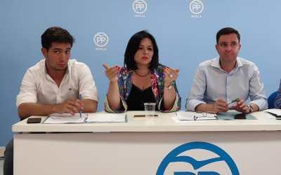 """Virginia Pérez: """"El Gobierno del cambio le ha dado la vuelta a la Junta de Andalucía pasando de la indolencia y la negligencia del PSOE a la eficiencia y la estabilidad"""""""