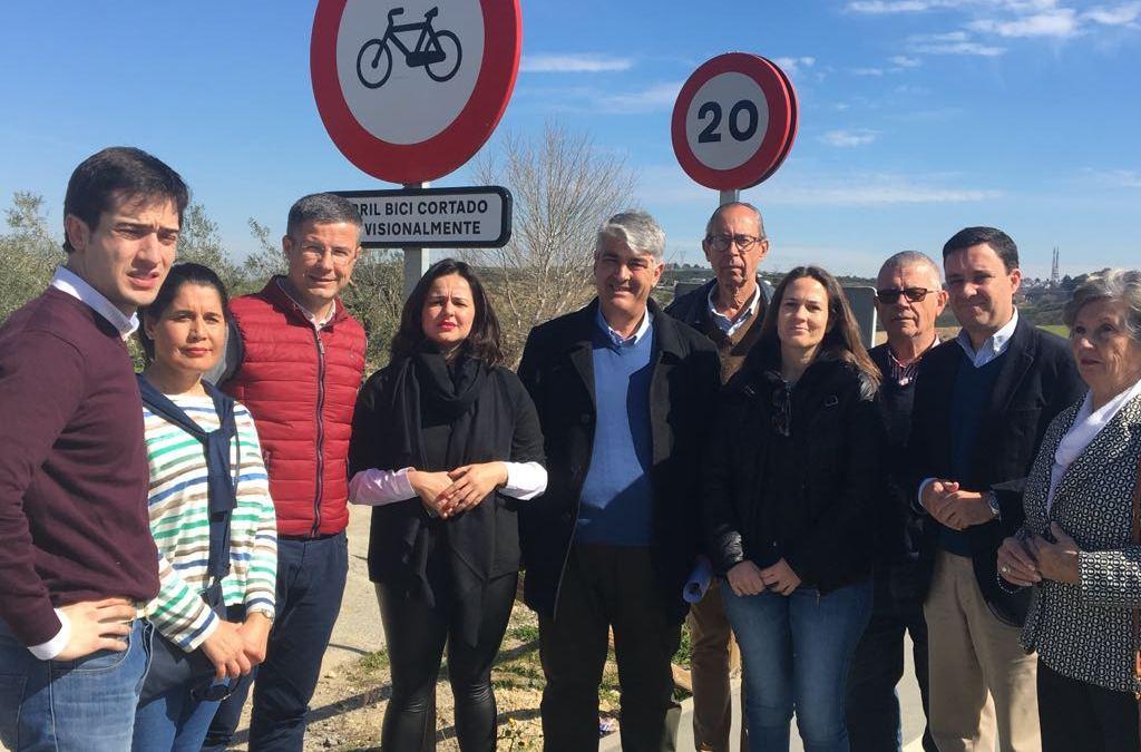 El PP de Sevilla exige a Villalobos explicaciones por las nefasta gestión del Carril Bici Valencina Salteras