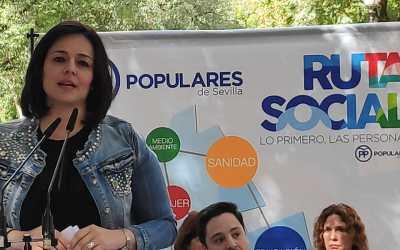 """Virginia Pérez: """"Frente a la campaña de bulos y desinformación del PSOE, el gobierno de la Junta se dedica a proteger y cuidar a los mayores de la provincia"""""""