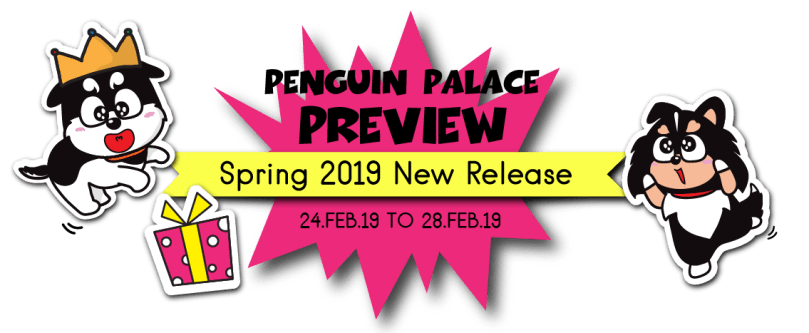 Spring2019 Penguin Palace Preview