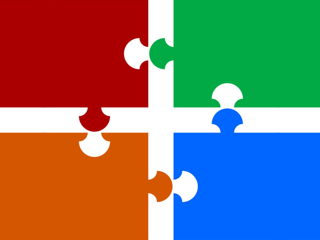 Puzzle Pieces Backgrounds  Powerpoint Templates  Free