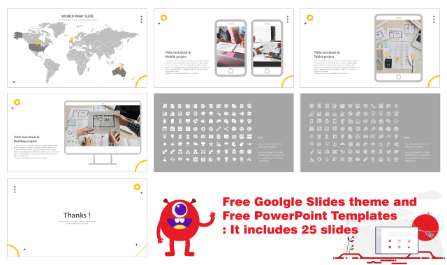 Simple PowerPoint template download