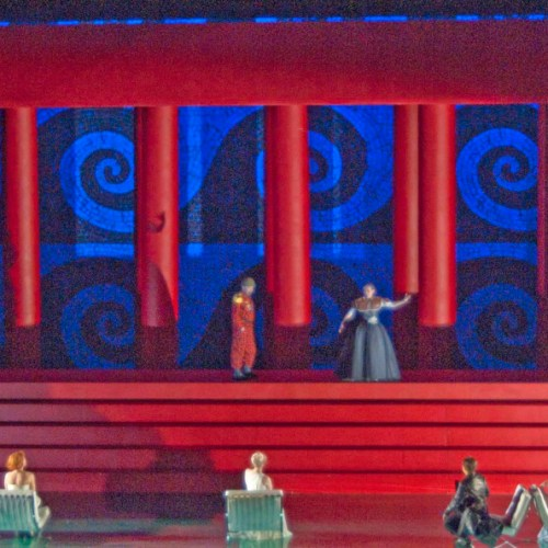 Deidamia, by Handel - Scenic Design by Paul Steinberg | Netherlands National Opera 2012