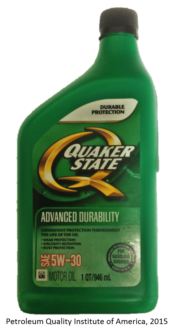 QuakerState SAE5W30 front finished
