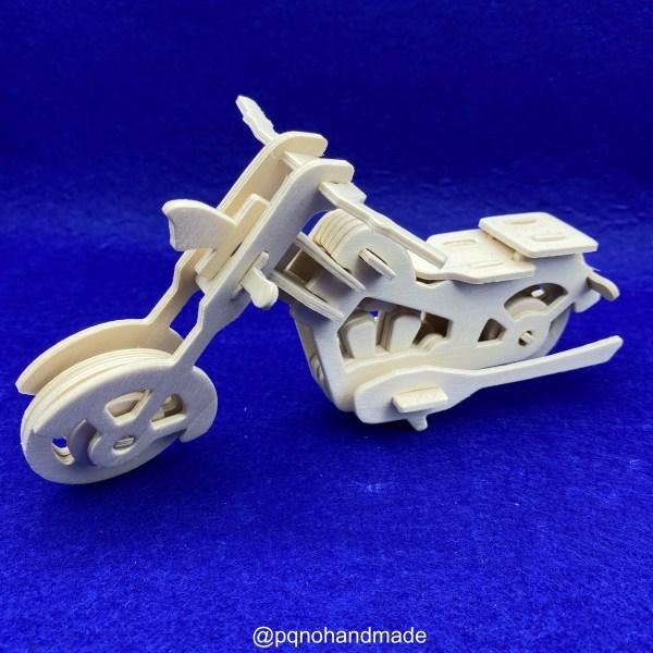 Motocicleta para montar 3D y pintar manualidades