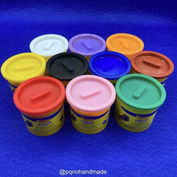 Plastilina Soft Dough todos los colores para modelar y jugar manualidades