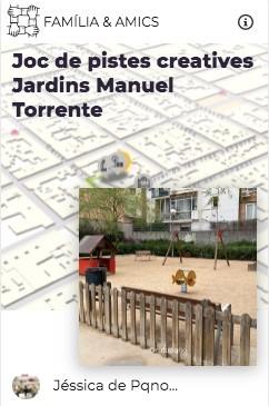 juego pistas pqno jardins manuel torrente explorins