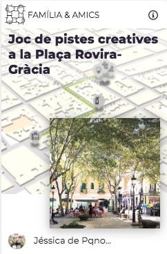 juego pistas pqno plaça rovira explorins