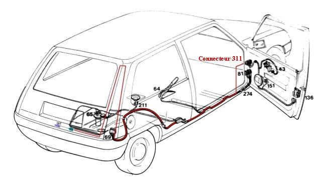alvis car schema cablage tableau