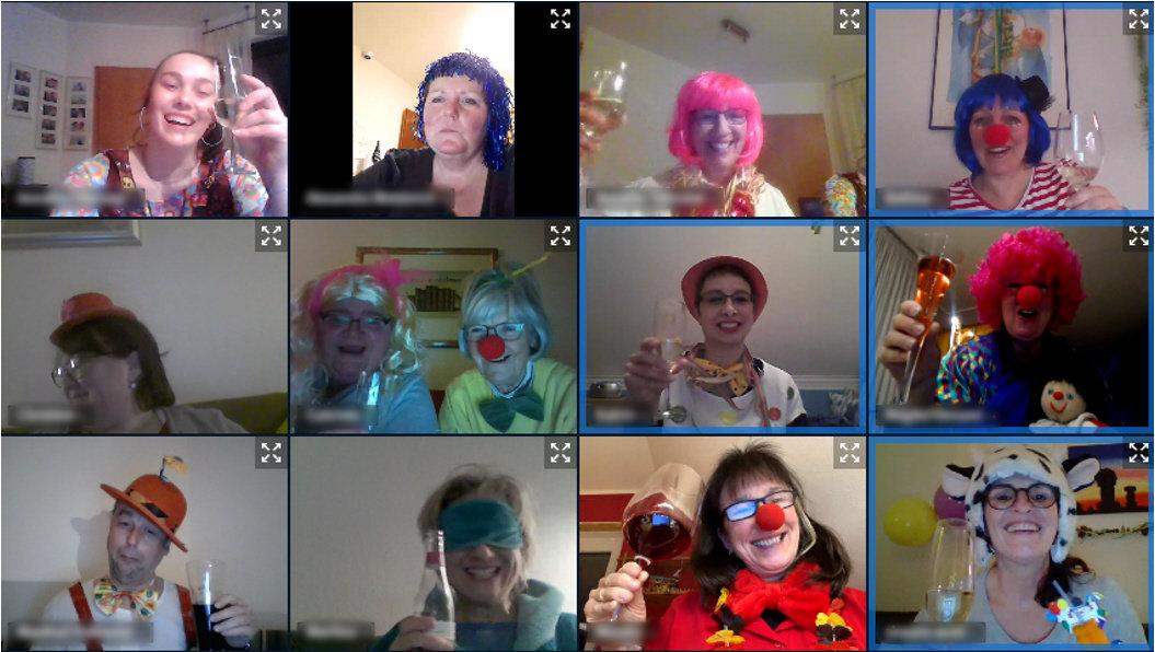 Karneval 2021 online
