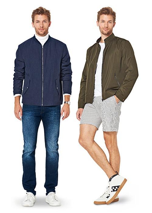 Выкройка Burda №6351 — Мужская куртка
