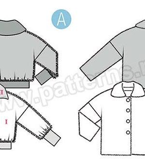 Выкройка Burda №6359 — Куртка