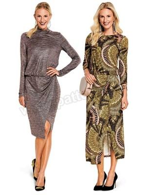 Выкройка Burda №6362 — Платье