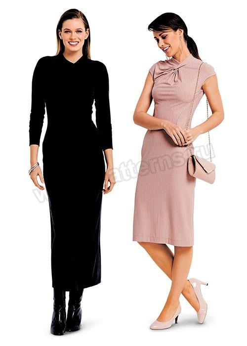 Выкройка Burda  6382 — Платье