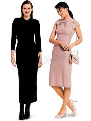 Выкройка Burda №6382 — Платье