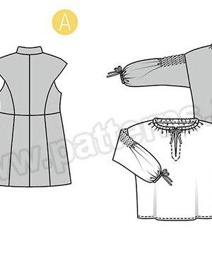 Выкройка Burda №6399 — Исторический мужской костюм