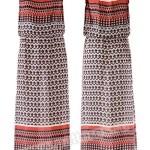 Выкройка Burda №6413 — Платье с драпировкой у горловины