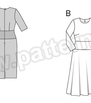 Выкройка Burda №6454 — Платье