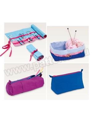 Выкройка Burda №6493 — Аксессуары для швейных и вязальных принадлежностей