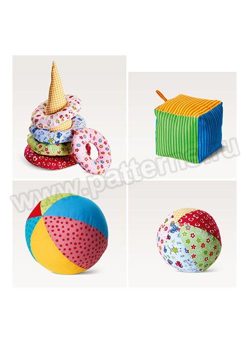 Выкройка Burda №6561 — Мягкие игрушки