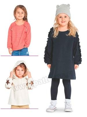 Выкройка Burda №9331 — Платье, пуловер