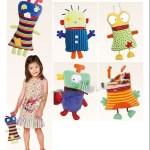 Выкройка Burda 6825 — Мягкие игрушки: инопланетяне