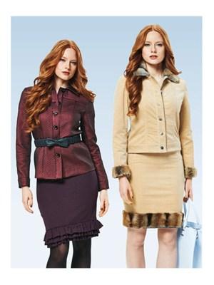 Выкройка Burda №7018 — Жакет, куртка