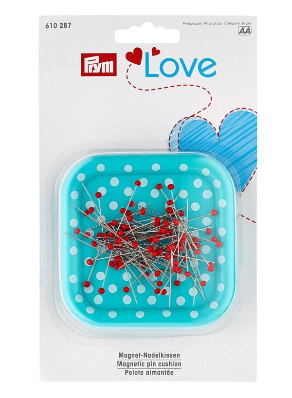 Магнитная игольница Prym Love с булавками