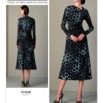 Выкройка Vogue №1406 — Платье от Rachel Comey