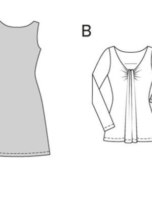 Выкройка Burda  6974 — Платье, туника