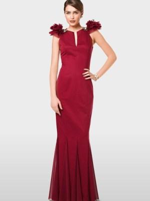 Выкройка Burda  6995 — Вечернее платье