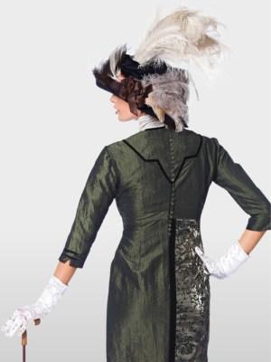 Выкройка Burda №7029 — Платье эпохи
