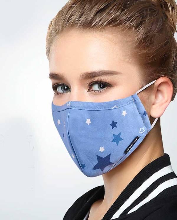 Защитная медицинская маска выкройка