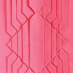 Декоративный мотив из складок
