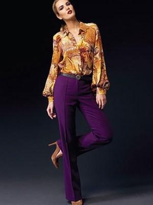 Выкройка Vogue №1366 — Блузка, брюки от Anne Klein
