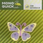 Термоаппликация Mono Quick (06403) – Бабочка сиренево-желтая