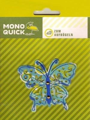 Термоаппликация Mono Quick (08135) – Бабочка бирюзовая