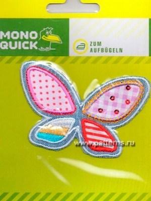 Термоаппликация Mono Quick (10479) – Бабочка разноцветная