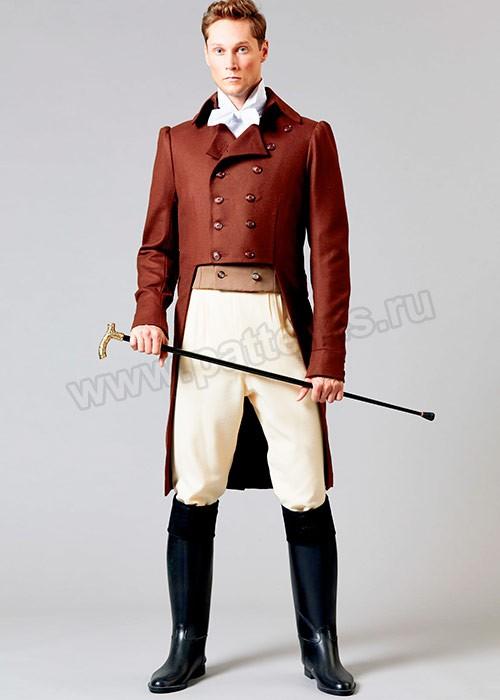 Выкройка Butterick — Исторический костюм мужской - B6573
