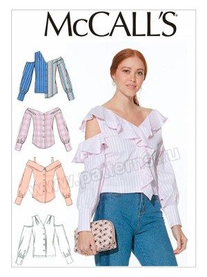 Выкройка McCall's — Блузка-рубашка - M7724